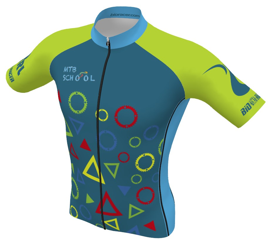 Trikot MTB School by BIORACER speedwear